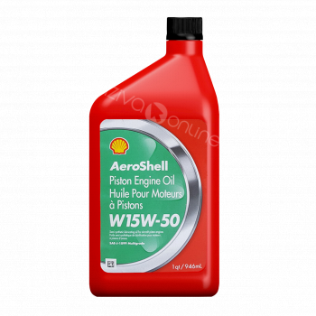 Shell Aeroshell Oil W 15W-50