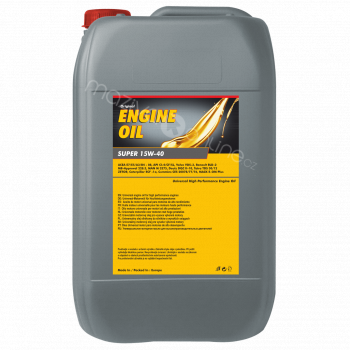 Engine Oil Super 15W-40